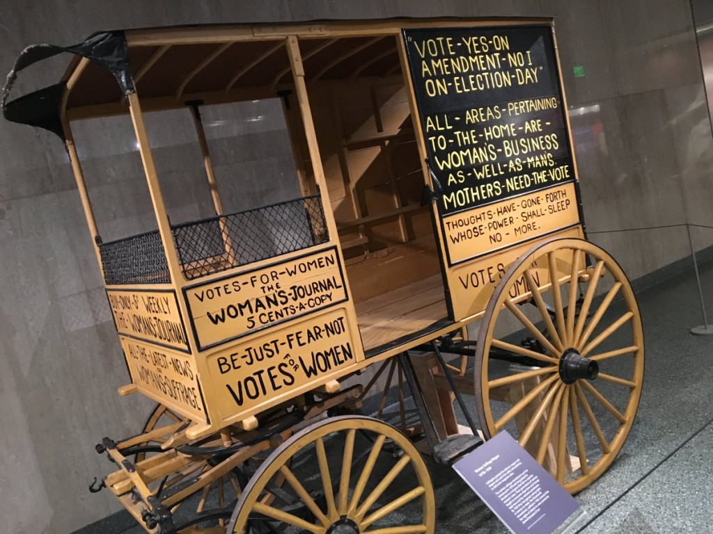 suffrage-wagon